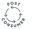 Post-consumer recycled materials