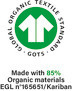 The strictest certification in organic fibre textiles, from harvesting the raw materials to environmentally and socially responsible manufacturing.
